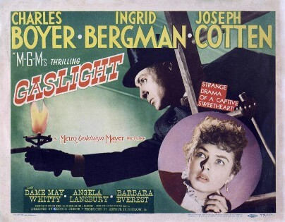 Gaslight movie about Gaslighting